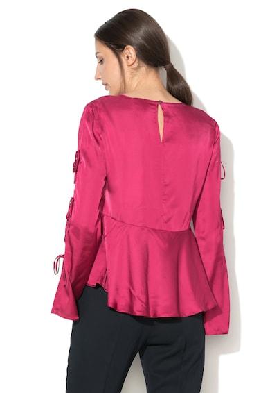 Max&Co Сатенена блуза Carioca с цепка на ръкава Жени