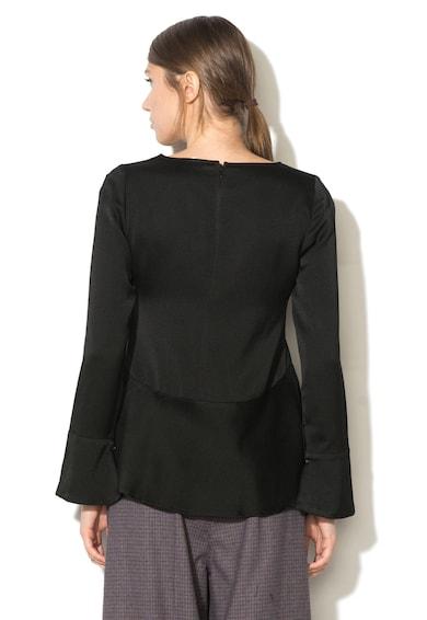 Max&Co Bluza din amestec de lana cu terminatie evazata Pastello Femei