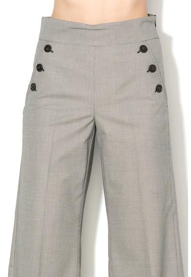 Marella Pantaloni culotte cu buzunare laterale cu nasturi Iliade Femei