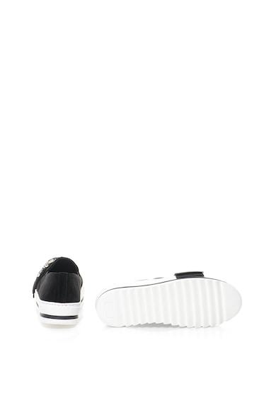 Marella Pantofi flatform slip-on de catifea cu funda Disco Femei