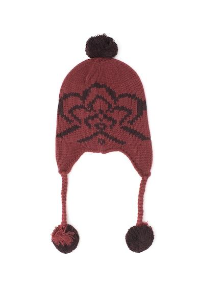 DESIGUAL Плетена шапка Trapper с помпон Жени