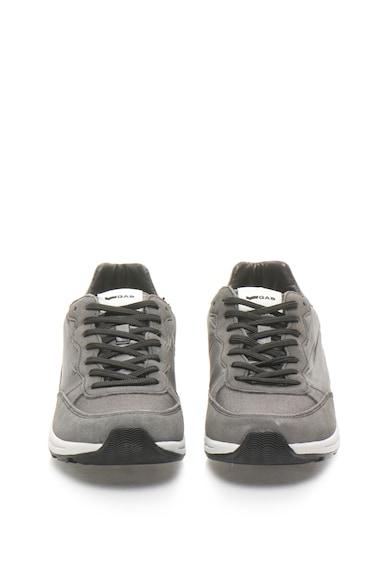 GAS Leo sneakers cipő nyersbőr betétekkel férfi