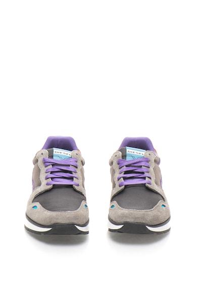 Diesel Pantofi sport cu garnituri contrastante Barbati