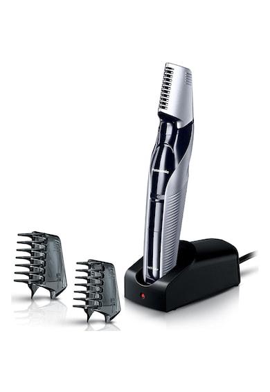 Panasonic Trimmer pentru parul corporal  , lavabil, accesoriu pentru zone sensibile, Argintiu Barbati