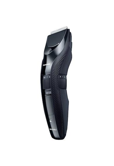 Panasonic Trimmer pentru barba si par corporal  , 19 trepte de ajustare intre 1 si 10 cm, Negru Barbati