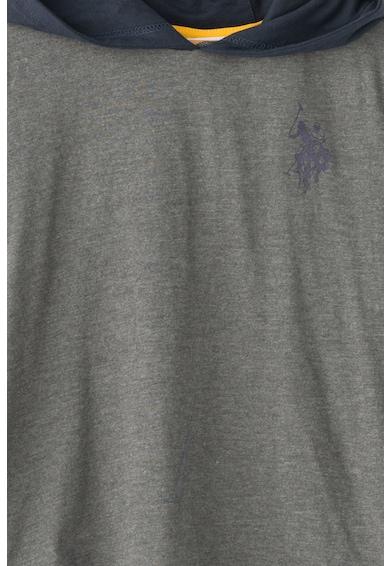 U.S. Polo Assn. Hanorac cu logo frontal Uspa Baieti