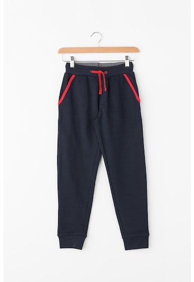 U.S. Polo Assn. Pantaloni jogger cu garnituri contrastante Baieti