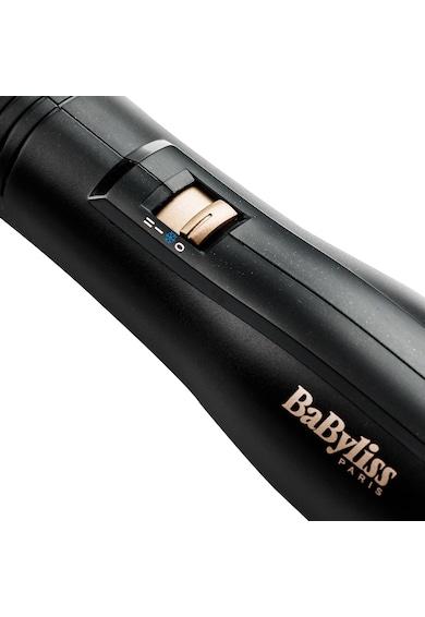 BaByliss Perie electrica cu aer cald  Dry & Style , Ionizare, 2 trepte temperatura, Negru Femei