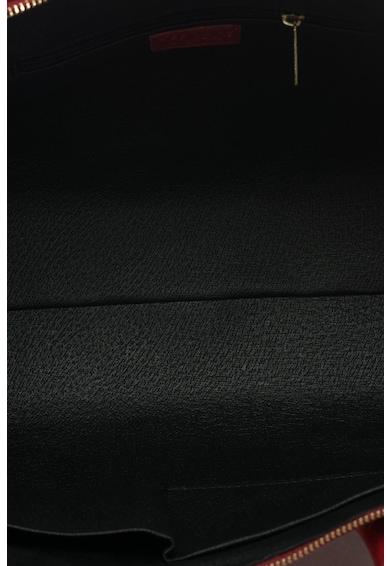 Zee Lane Geanta bowler de piele saffiano cu bareta detasabila Femei