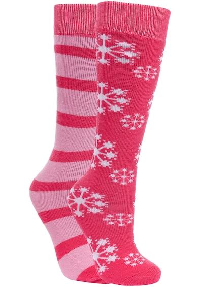 Trespass Комплект чорапи Lori на шарки, 2 чифта Момичета