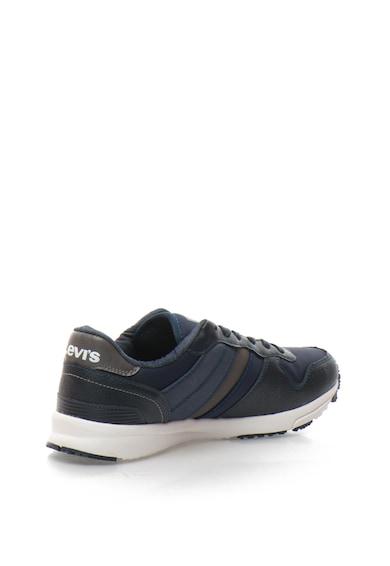 Levi's Pantofi sport din piele sintetica si material textil Barbati