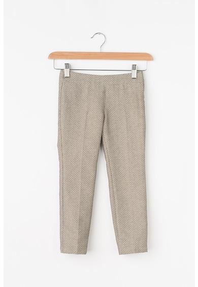 United Colors of Benetton Pantaloni cu fermoar lateral si talie ajustabila Fete