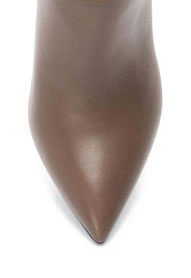 Pollini Botine de piele cu toc inalt Femei