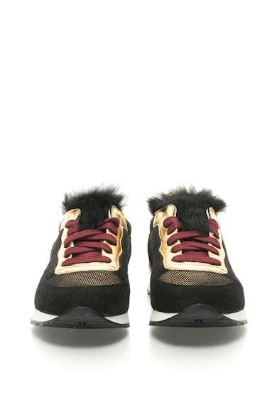 Pollini Спортни обувки с еко кожа на езика Жени