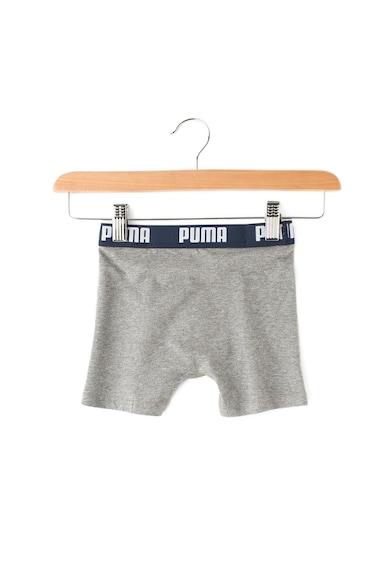 Puma Set de boxeri cu banda logo in talie - 2 perechi Baieti