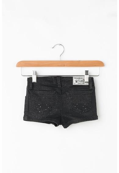 Diesel Pantaloni scurti din denim cu aplicatii cu strasuri Prira Fete