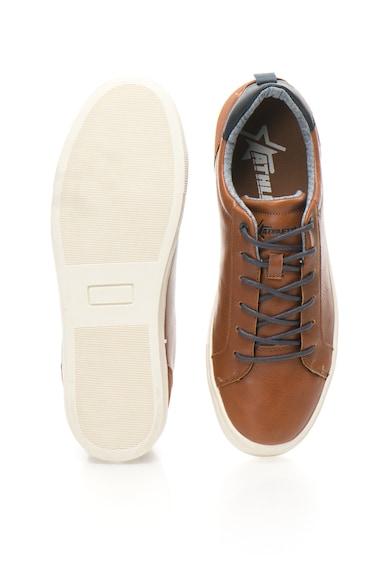 ATHLETIC Pantofi sport de piele sintetica cu design perforat King Barbati