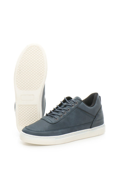ATHLETIC Pantofi sport din piele sintetica cu design perforat Chin Barbati