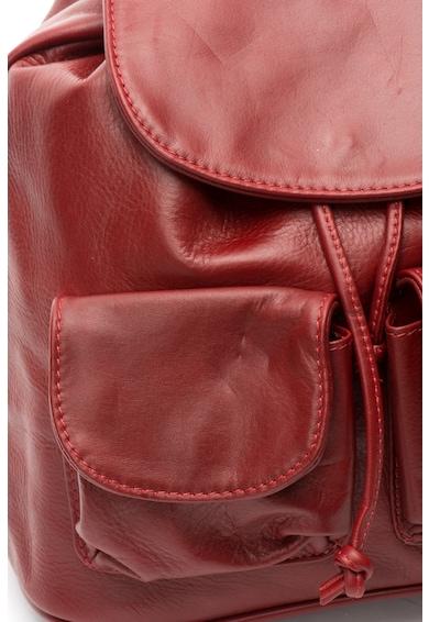Chiara Canotti Bőr hátizsák zsebekkel női