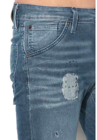 Jack&Jones Pantaloni slim fit din material reiat Glenn Barbati