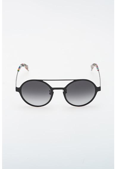 Furla Овални слънчеви очила с метална рамка Жени