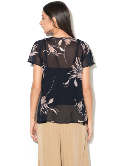 Pennyblack Bluza vaporoasa cu model floral Falena Femei