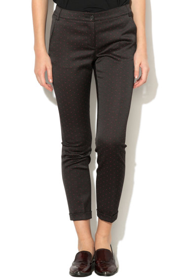 Pennyblack Pantaloni texturati cu buzunare si terminatii pliate Landau Femei