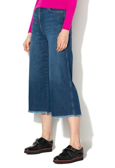 Pennyblack Pantaloni culotte din denim cu terminatii nefinisate Lago Femei