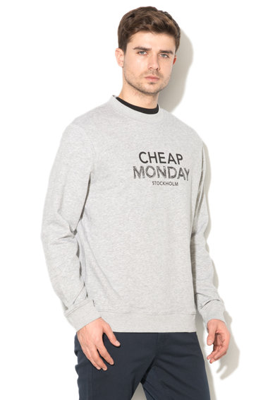 Cheap Monday Bluza sport cu imprimeu logo Worth Barbati