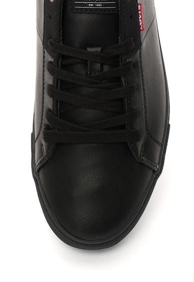 Levi's Pantofi sport de piele sintetica cu garnitura texturata Barbati