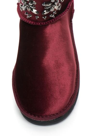Oakoui Кадифени боти TRONCHETTO с декоративни камъни Жени