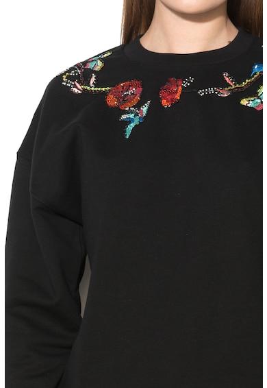 JUST CAVALLI Bluza sport cu paiete Femei