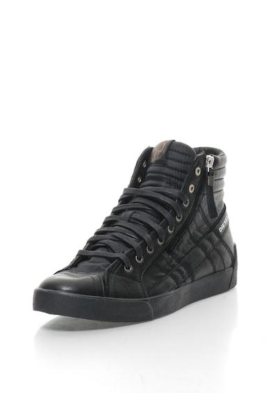 Diesel Спортни обувки D-String Plus с кожа и велур Мъже