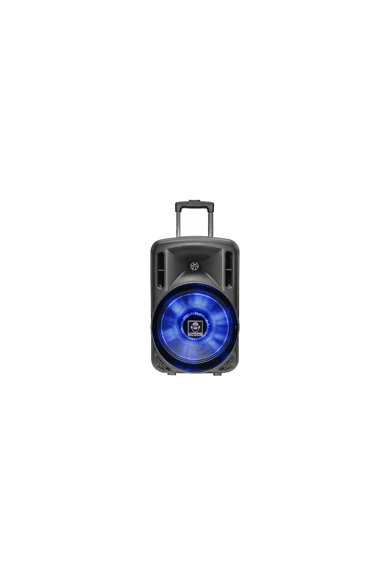 iDance Boxa portabila  , karaoke, Bluetooth, 300W, troler, microfon inclus, USB Femei