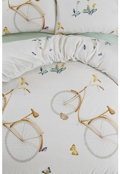 Leunelle Lenjerie de pat cu design grafic Bisiklet Femei