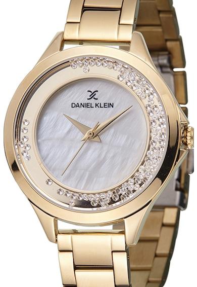 DANIEL KLEIN Ceas cu un cadran sidefat si zicornia Femei