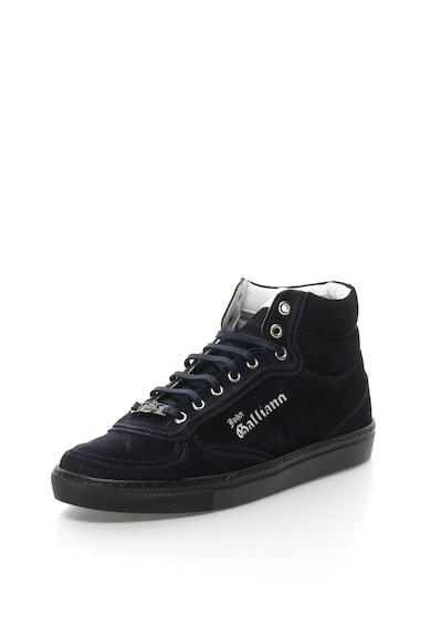 John Galliano Nyersbőr magas szárú sneakers cipő férfi