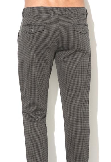 Alcott Pantaloni chino cu model houndstooth Barbati