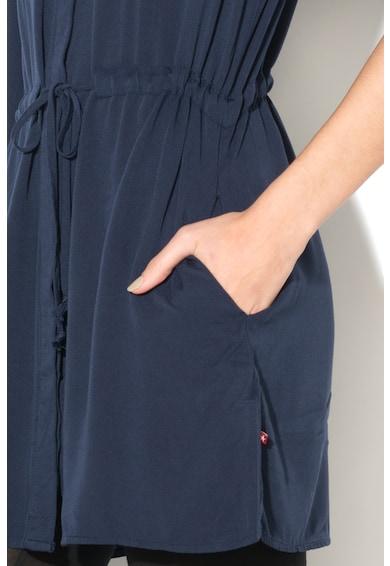 BIG STAR Camasa lunga tip tunica cu snur in talie Femei