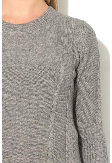 Big Star Пуловер Alda с асиметричен подгъв Жени