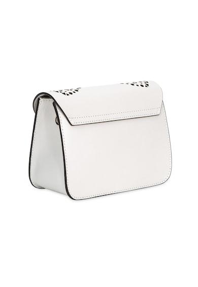 Furla Малка кожена чанта Metropolis с перфориран дизайн Жени