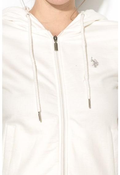 U.S. Polo Assn. Zipzáros, Kapucnis Pulóver női