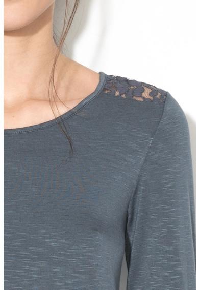 Skiny Bluza de casa cu insertii de dantela Femei