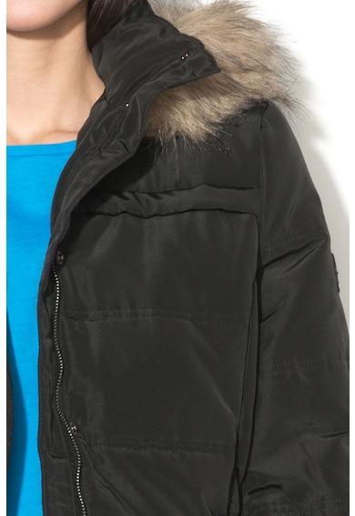 Tom Tailor Geaca cu vatelina si garnitura detasabila de blana sintetica Femei