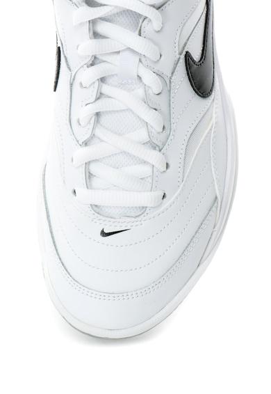 Nike Pantofi sport cu garnituri de piele si plasa, pentru tenis Court Lite Barbati
