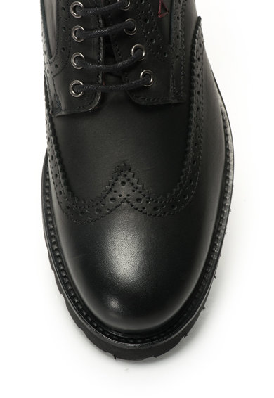 Guess Pantofi derby de piele Barbati