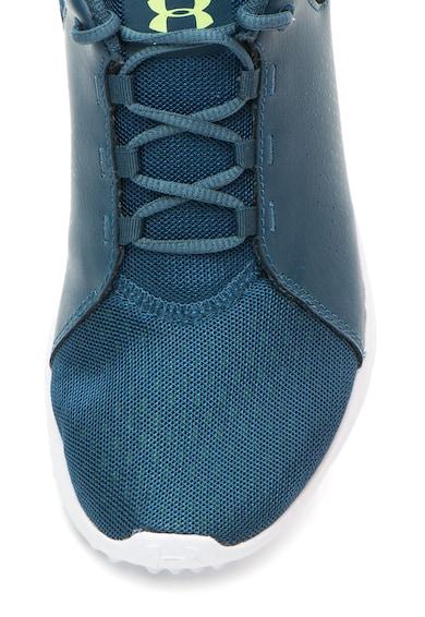 Under Armour Pantofi cu insertii de piele pentru fitness Squad Femei
