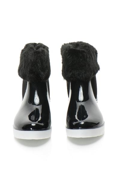 Gioseppo Ghete Chelsea de ploaie cu garnituri de blana sintetica Femei