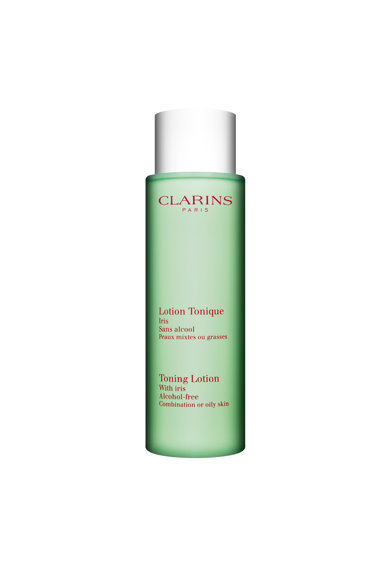 Clarins Lotiune tonifianta  cu iris fara alcool, 200 ml Femei
