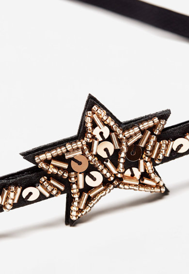Mango Bentita cu stele din paiete Fete